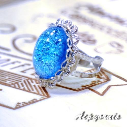 Sea sparkling ring