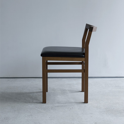 Pico Chair + leather seat