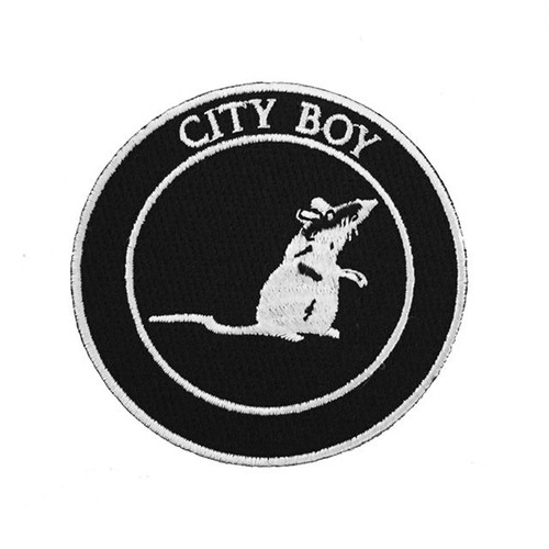 "STRIKEGENTLY.CO""City Boy Patch"""