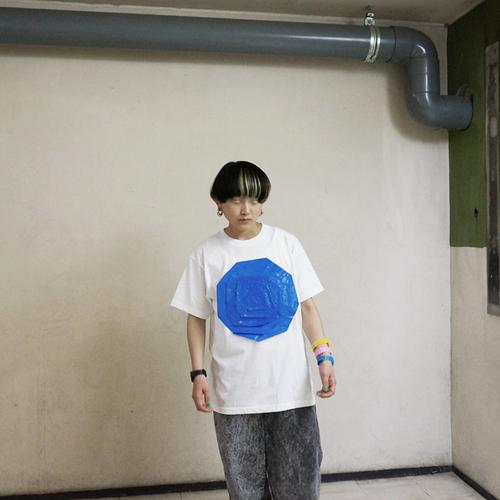 Lau made in Japan『uzumaki-Tシャツ/ホワイト』