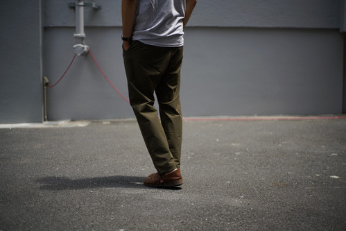 【再入荷】KAFIKA / DOUBLE CLOTH LOUNGE PANTS