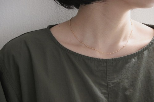 【再入荷】dot -Gold- / Necklace