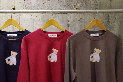 CHARI&CO THE BEAR CREWNECK SWEAT