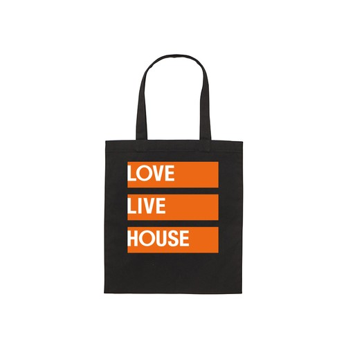 LOVE LIVE HOUSE Tote(BLACK/WEB SHOP ONLY)