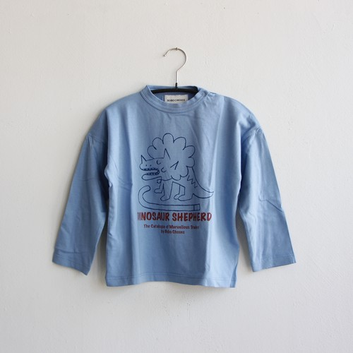 《BOBO CHOSES 2020AW》Dino long sleeve T-shirt / 6-36M