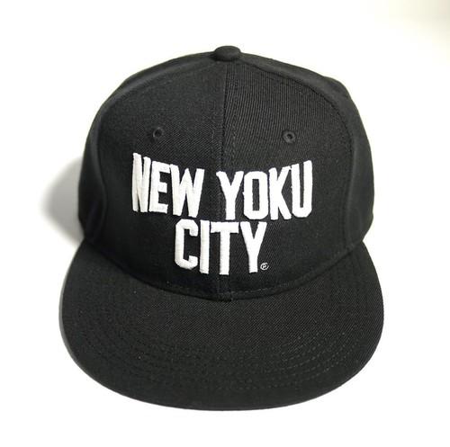 NEW YOKU CITY(入浴シティー)3D刺繍 BLK