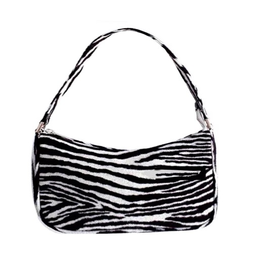 【Select】90s Gals Zebra Strap Bag