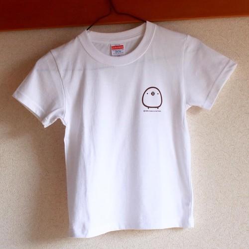 Tシャツ 120cm 白 ひよこさん
