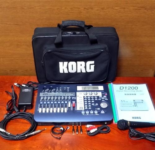 KORG Digital Recording Studio D1200mKⅡ 録音・編集良好・完動品