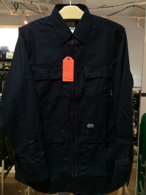 "DUPPIES (ダッピーズ) ""RED STITCH OX FORD SCYRTE ""TYPE-M65"" [Black]"