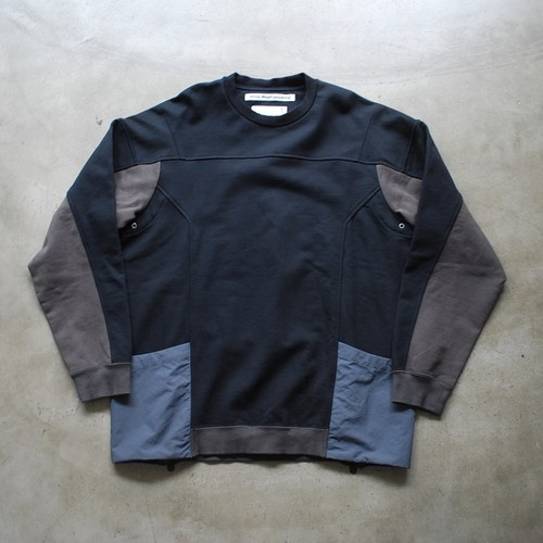 White Mountaineering CONTRASTED SWEAT SHIRT