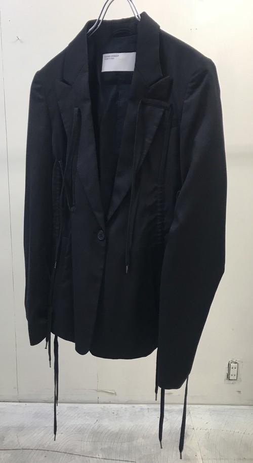 SS2003 HUSSEIN CHALAYAN JACKET WITH DRAWSTRINGS