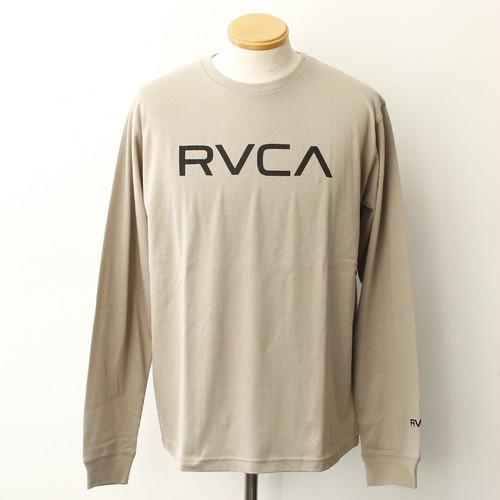 【RVCA】BIG RVCA LS TEE (KHAKI)
