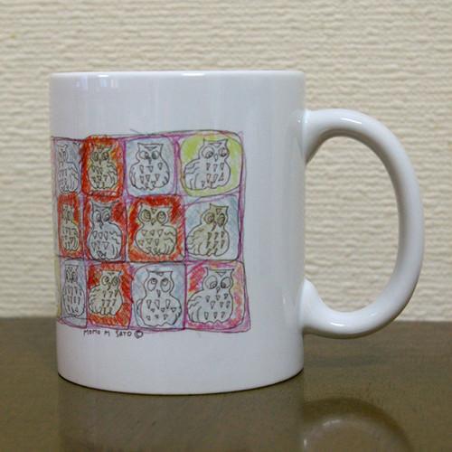 マグカップ「red cross」モモMサトウmg002
