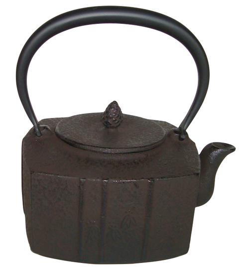 鉄瓶:四方竹