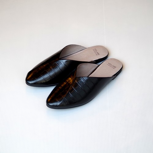 VOLARE  LEATHER SLIPPER