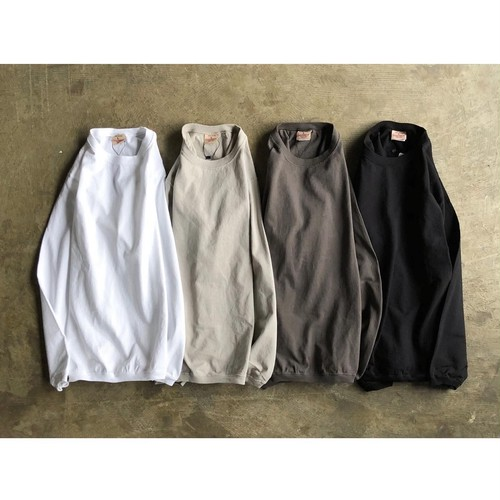 GOODWEAR(グッドウエア) CREW NECK L/SL WITH CUFF&HEM RIB