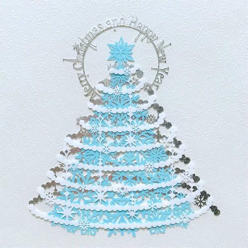 切り絵キット2018.12「クリスマス」