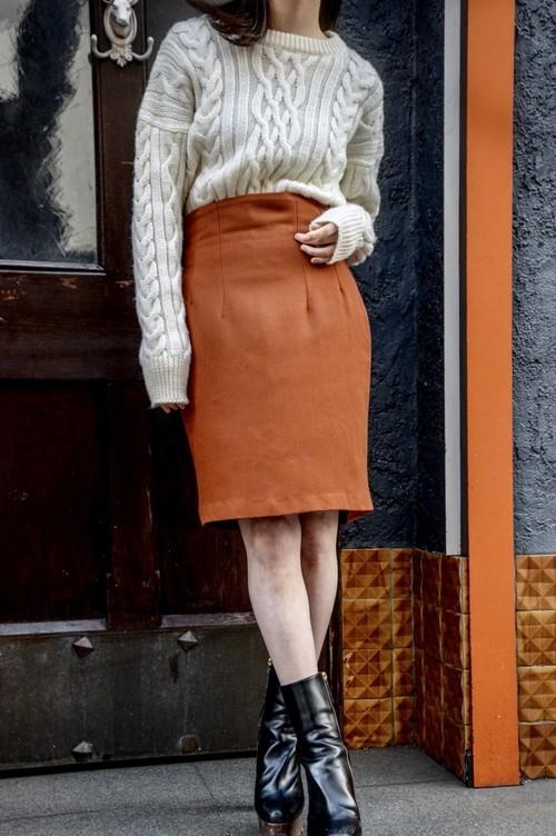 USED - Tight Skirt ¥7000+tax