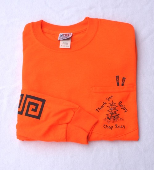 Chop Suey L/S T-Shirts, Orange