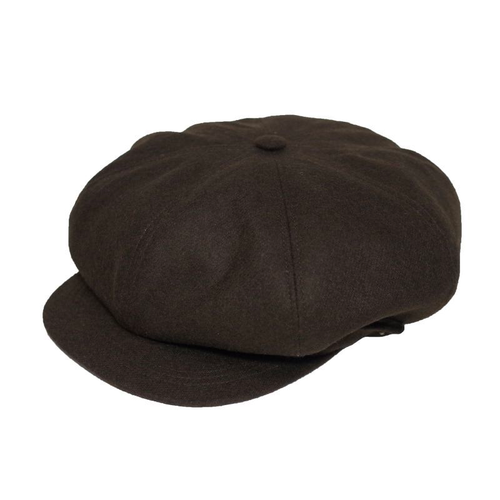 Original John | WORKERS CASQUETTE - WOOL BROWN [HTWC381]