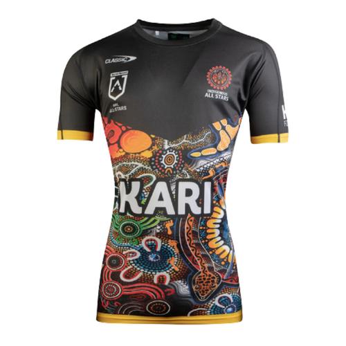 NRL Indigenous All Stars 2021 Training T-Shirt【海外取寄せ商品】