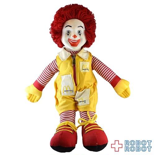 マクドナルド ロナルド ぬいぐるみ人形 40センチ 角マユ