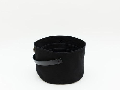 CANVAS PLANTER SET - BLACK