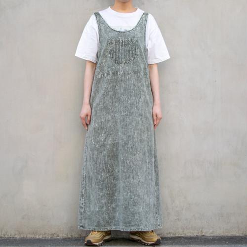Acid Wash Sleeveless Dress