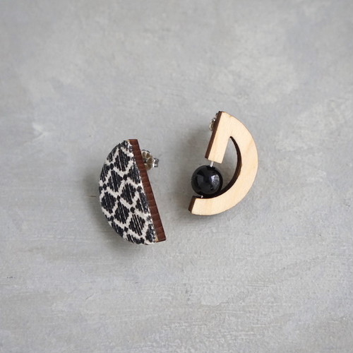pierced earrings C-P06/earrings C-E06<silver>
