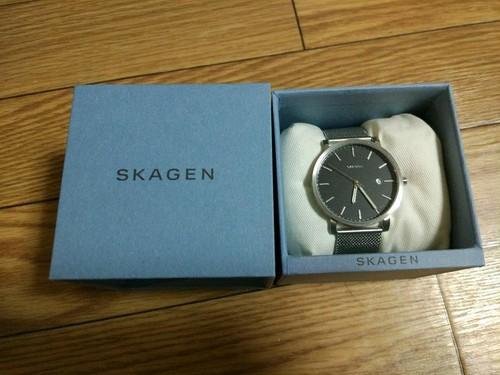 スカーゲン 腕時計 メンズ 新品未使用腕