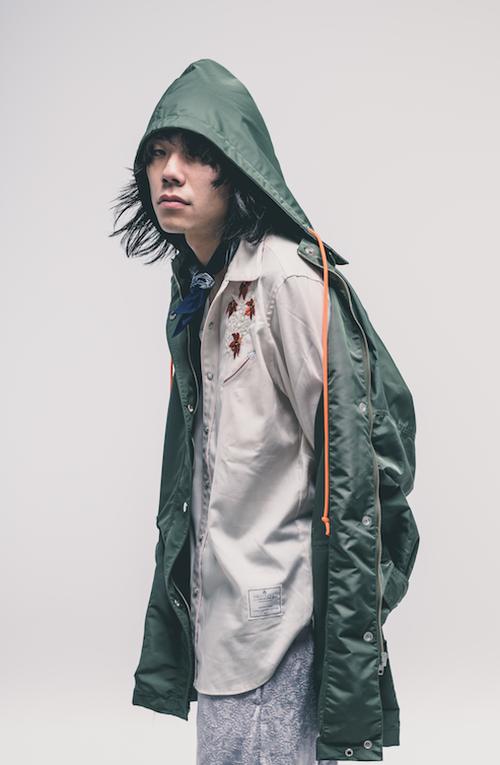EFFECTEN(エフェクテン) nylon mods coat