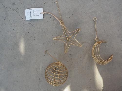 WIRE ornament 3P SET
