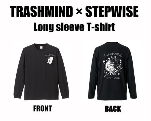 TRASHMIND × STEP WISE LONG SLEEVE T-SHIRT