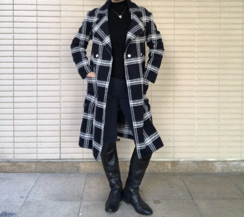 Check Coat 【New product】