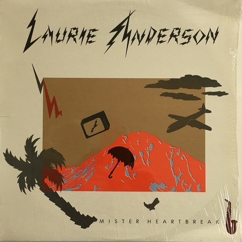 【LP・米盤】Laurie Anderson  /  Mister Heartbreak