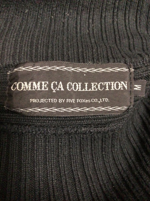 early2000's COMME ÇA COLLECTION cotton knit jacket