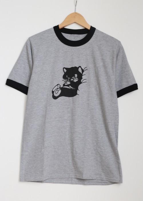 "idetatsuhiro ""GOOD NIGHT T-shirt""[gray]"