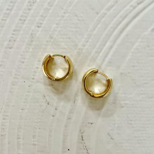 【14K-2-14】14K real gold earring