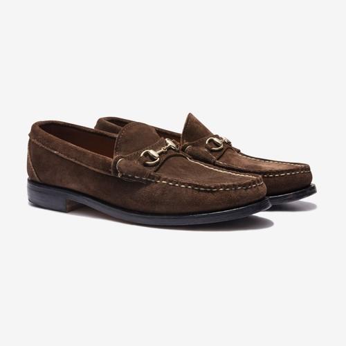 Suede Bit Beefroll Loafer(Tan)