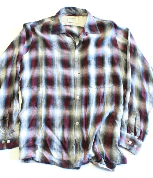 Vintage Arrow ombré check shirts