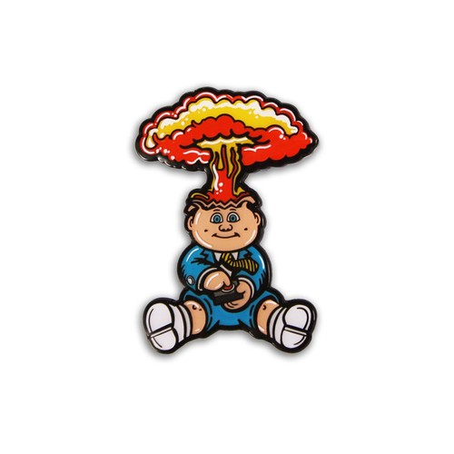 "Creepy Co.""GARBAGE PAIL KIDS® ADAM BOMB ENAMEL PIN"""