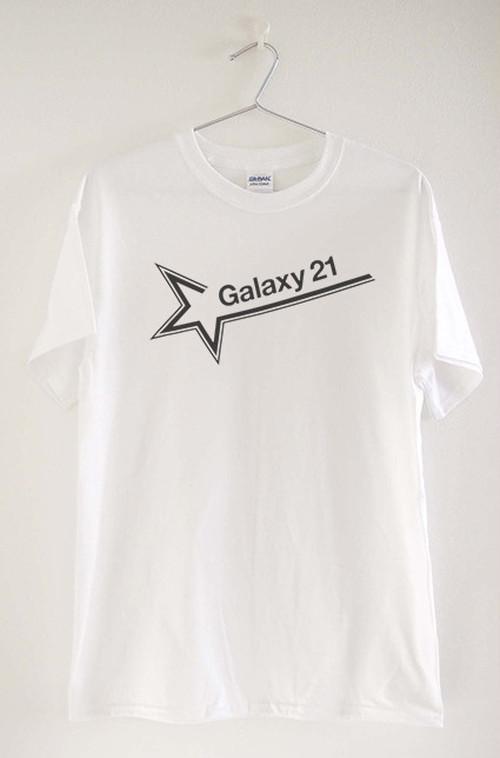 TM003A:Galaxy 21 TEE / WHT