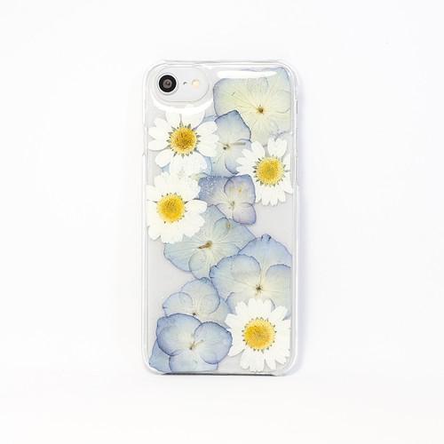 【6/6s,7,8対応】押し花 iPhone case