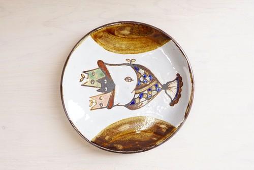 6寸皿【ぱっくん猫】
