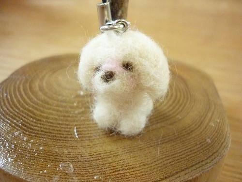 羊毛フェルトアニマル 犬