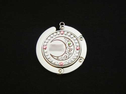 バッグハンガー 商品ID:KM-0301                         スワロフスキー装飾付  ギフト包装無料 送料別途(サイズ60)