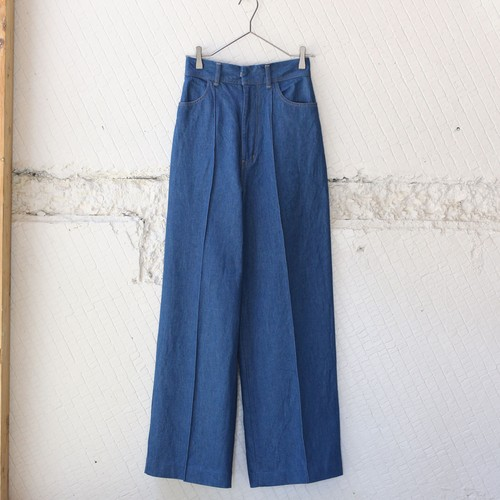 【CURRENTAGE】H/W DENIM
