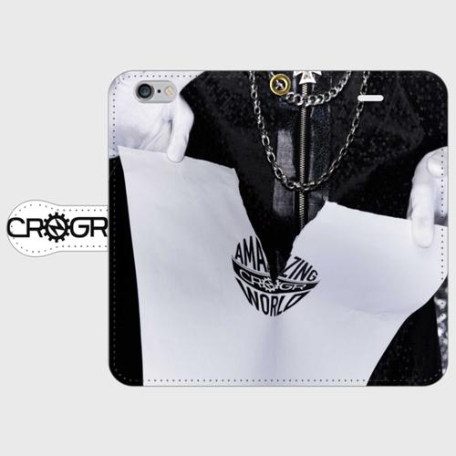クロノギア 手帳型iPhoneケース