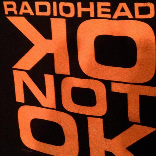"""Vintage 90s radiohead """" OK COMPUTER """" Tee"""